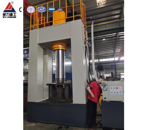 薄板拉伸500吨框架式液压机